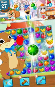 Mini Candy Fruit Juice Jam– Puzzle Game & Match 3 apk screenshot