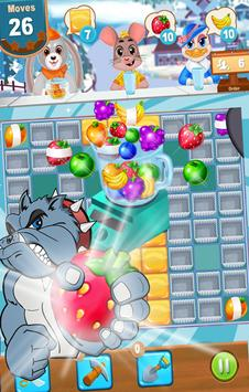 Mini Candy Fruit Juice Jam– Puzzle Game & Match 3 poster