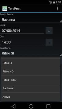 Registro Orari Sgt Telepost apk screenshot