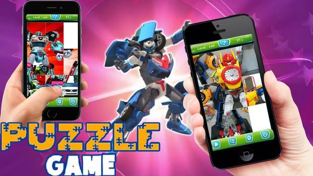 Super Tobot Puzzle Heroes screenshot 1