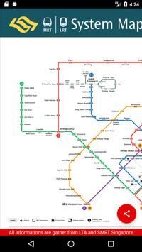SG MRT Map screenshot 1
