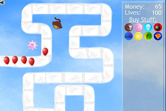 Ballons Monkey TD 2 apk screenshot
