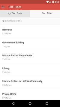 VA African American History apk screenshot