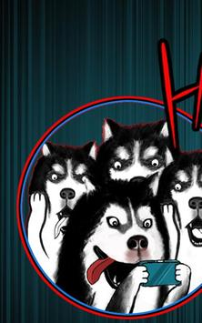 Puppy puzzle game:Husky War poster
