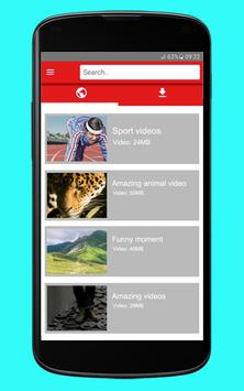 Tube Video Downloader Pro apk screenshot