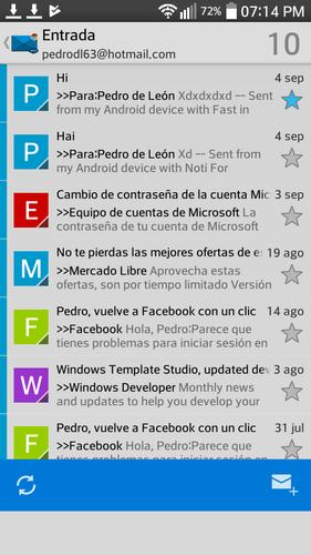 Email For Hotmail PRO (Correo) for Android - APK Download