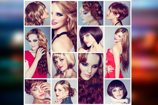 Woman Makeup & Hair Style poster