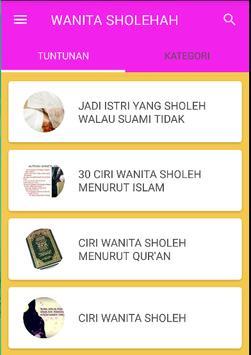 PANDUAN WANITA SHOLEHAH screenshot 1