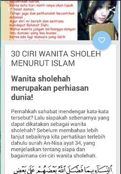PANDUAN WANITA SHOLEHAH screenshot 2