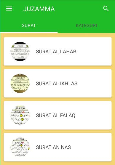 Juz Amma Arab Latin For Android Apk Download