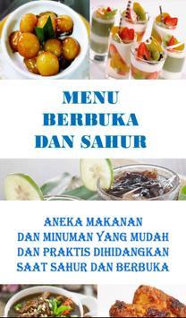 MENU BUKA DAN SAHUR PRAKTIS poster