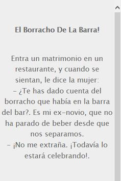 Chistes Cortos de Borrachos apk screenshot