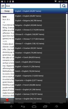 A+ Dictionary Translate Speak apk screenshot