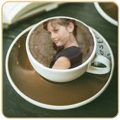 Smart Coffee Cup Photo Frame icon