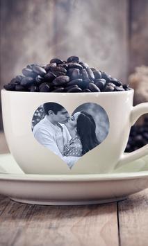 Smart Coffee Cup Photo Frame apk screenshot