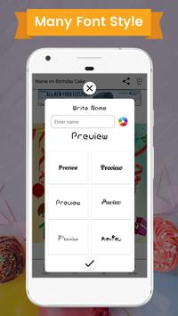 Name On Birthday Cake screenshot 2