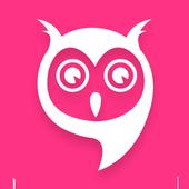 Owl Sliding Down icon