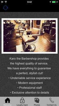 Karo the Barbershop poster