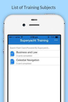 Superyacht Training poster
