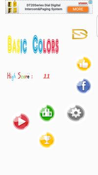 Basic Colors poster
