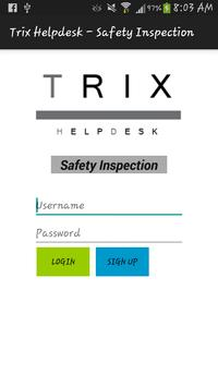 TRIX - Safety Inspection poster