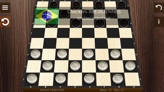 Dames 3d- ( Draughts) screenshot 1