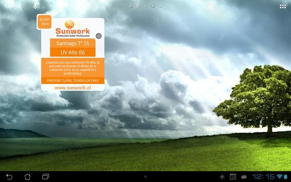 Indice UV Sunwork apk screenshot