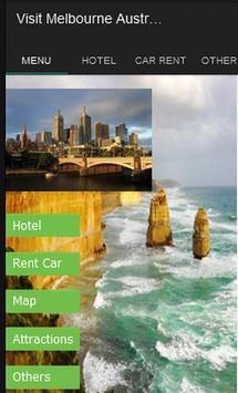 Visit Melbourne poster