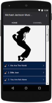 Michael Jackson Popular Lyrics apk screenshot