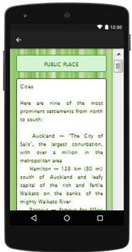 New Zealand Travel Guide apk screenshot