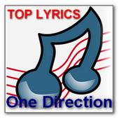 ONE DIRECTION TOP LYRICS icon