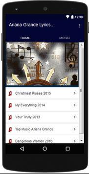 TOP Songs of ARIANA GRANDE apk screenshot