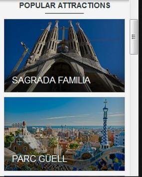 Visit Barcelona apk screenshot