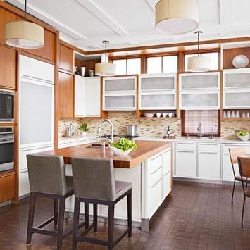 Best Kitchen Design layout poster