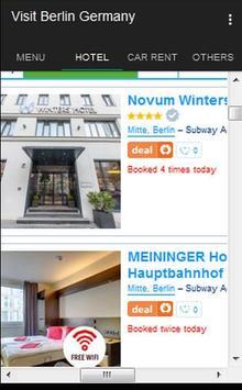 Visit Berlin Germany apk screenshot