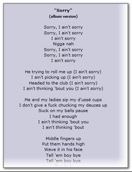 Beyonce Lyrics Hits screenshot 3