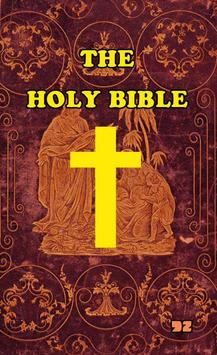 The Holy Bible (King James) poster