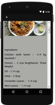 New Biriyani Recipes screenshot 2