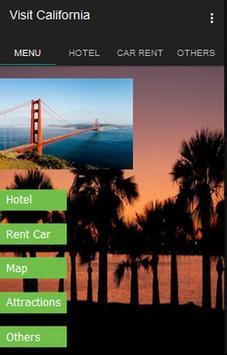 Visit California poster