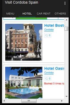 Visit Cordoba Spain apk screenshot