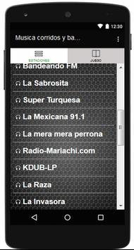 Musica corridos y banda gratis apk screenshot