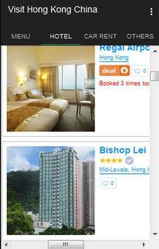 Visit Hongkong apk screenshot