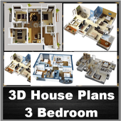 3D Design for 3 Bedroom icon