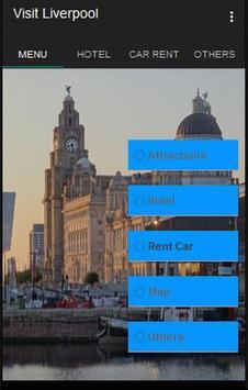 Visit Liverpool poster
