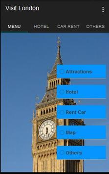 Visit London poster