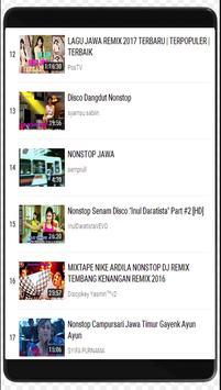 Remix Lagu Jawa Full Bass Nonstop apk screenshot