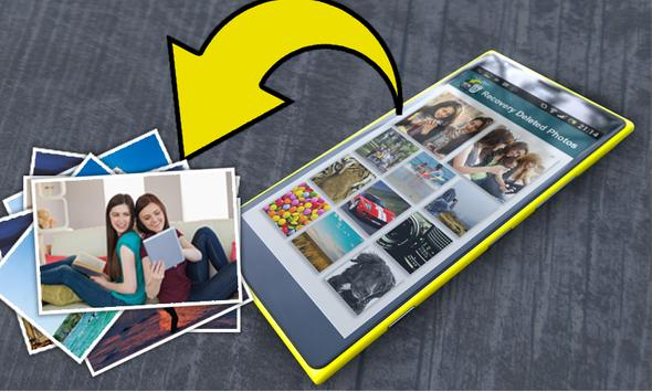 Recover / Backup deleted photo apk screenshot