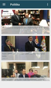 Vesti screenshot 1