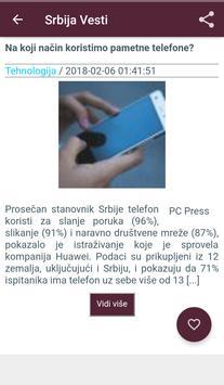 Srbija Vesti screenshot 2