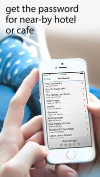 Wifimaps: free wifi +passwords screenshot 3